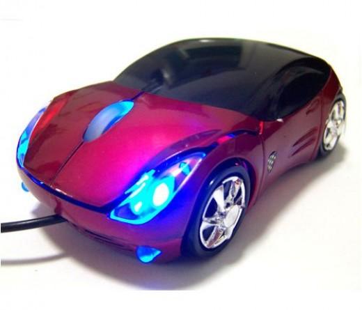 Ferrari car mouse