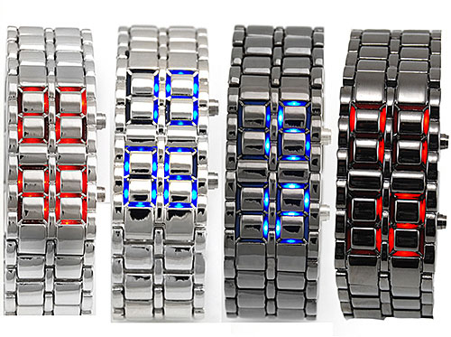 Lava Stainless Steel Digital Watch