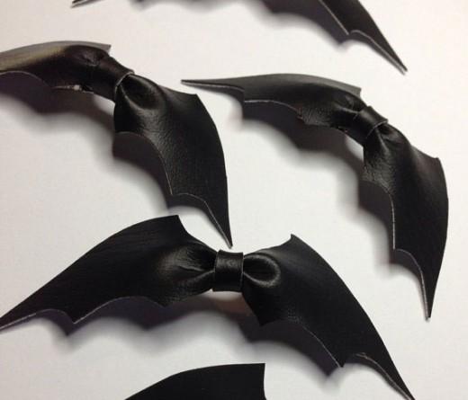 Leather Bat Bow