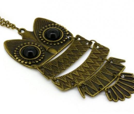 Owl Pendant Chain