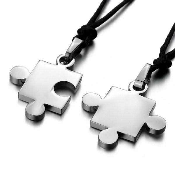 Necklace Puzzle Love